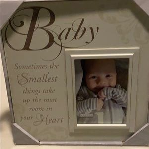 NWT Baby picture frame